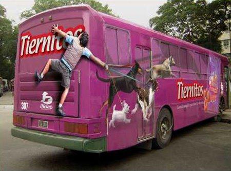 40 Fotos - Imágenes de Autobuses Pintados de Forma muy Creativa