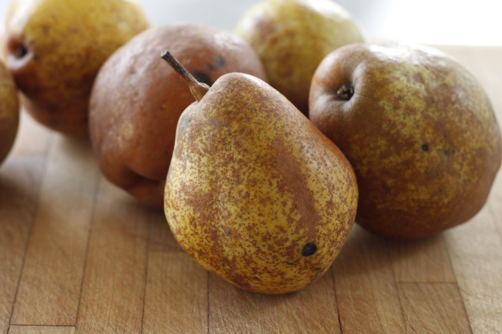 franish nonspeaker: Vanilla Roasted Pear Tarts