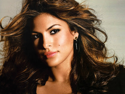 Well, Eva Mendes, but who ...