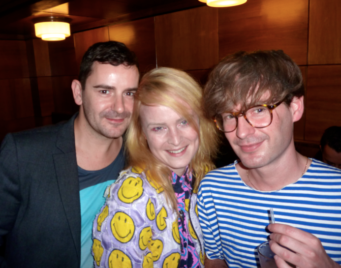 Murray Arthur, designer Louise Gray and Ponystep's Sam Moriarty