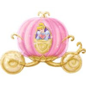 Every Princess Deserves a Pink Pumpkin Carriage!