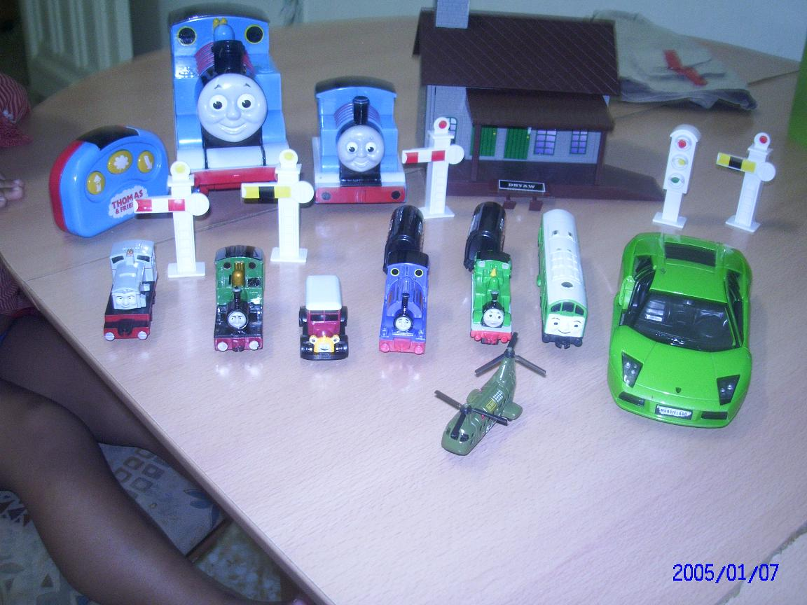 My Thomas Toys Collections