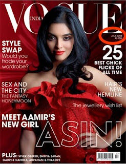 Actress Asin on Vogue Magazine India Cover