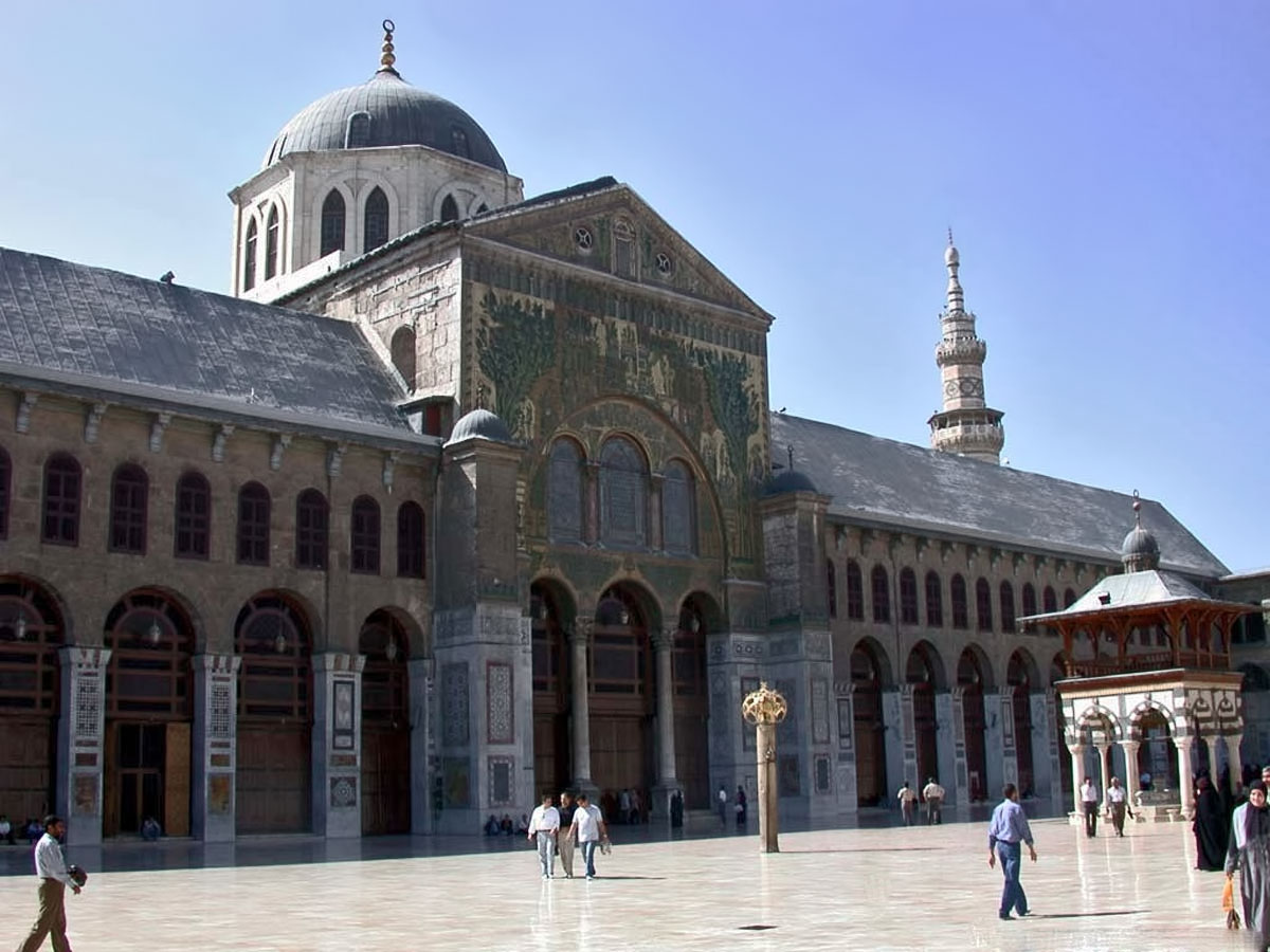 Album islam umayyad mosque damascus syria for The damascus house