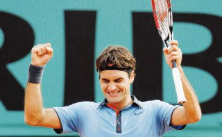 Federer and Del Potro Advance to Semifinals