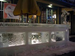 icebar em Quebec, Canadá