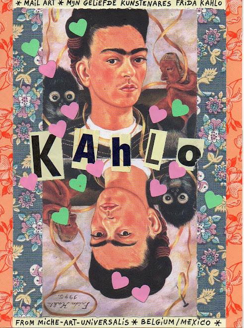 Mijn  Geliefde kustenares Frida Kahlo