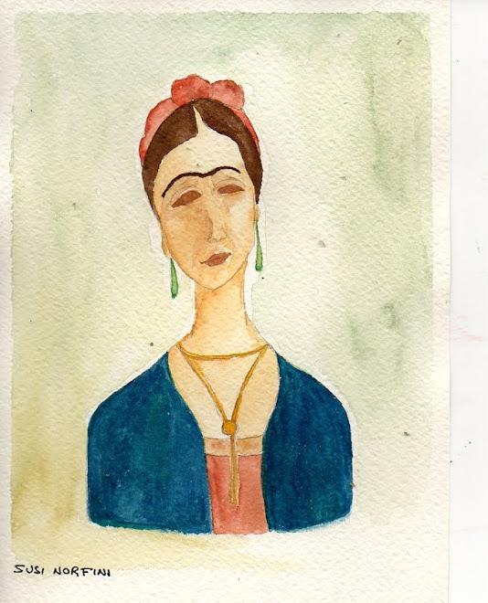 Frida se fosse un Modigliani