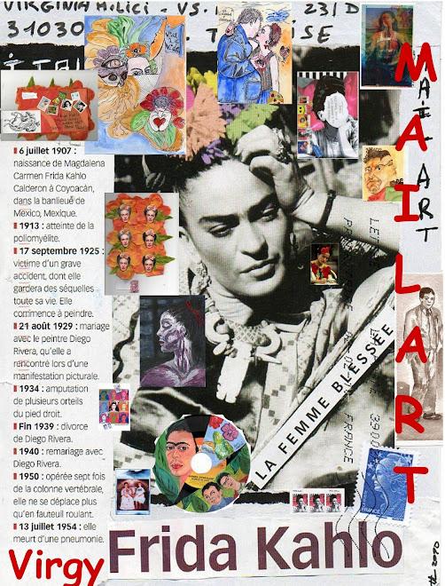 Locandina Frida MailArt