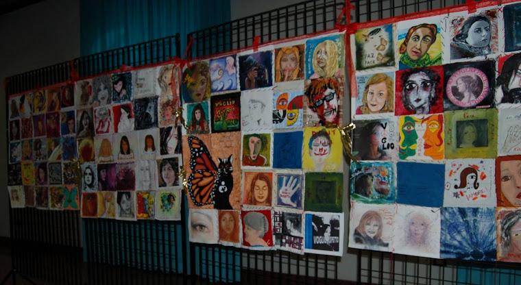 BIG TELA composta da 4 pannelli 1mx1m  Un capolavoro di Arte contemporanea