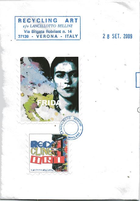 busta Recycling Art ricevuta