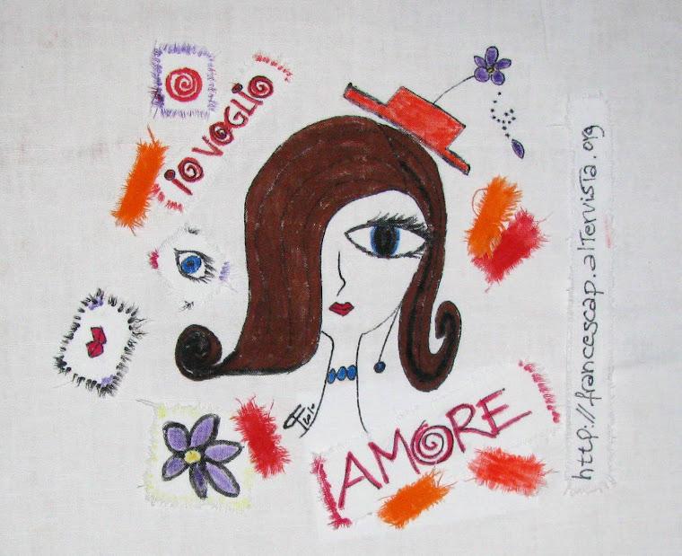 Io Voglio Amore( 1) La prima tela Arrivata