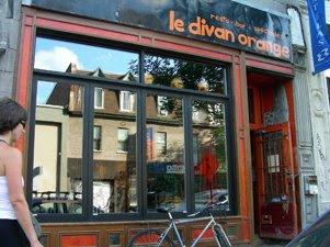 Montreal food vegetarian le divan orange for Divan montreal