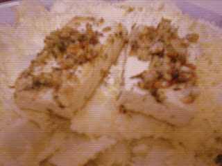 Ravioles con tofu a la plancha