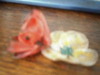 Artesania reciclando PET: flores