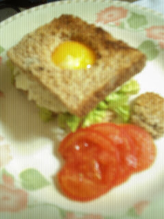 Comida bajas calorias: Sandwich caliente.