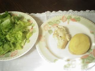 Almuerzo o cena con menos de 500 cal II