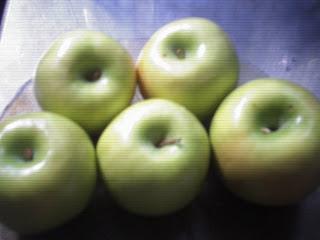 Manzana roja o manzana verde en la dieta?