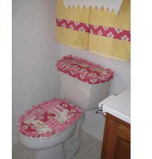 Manualidades para el ba o for Tapaderas de wc