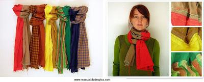 Como hacer una bufanda