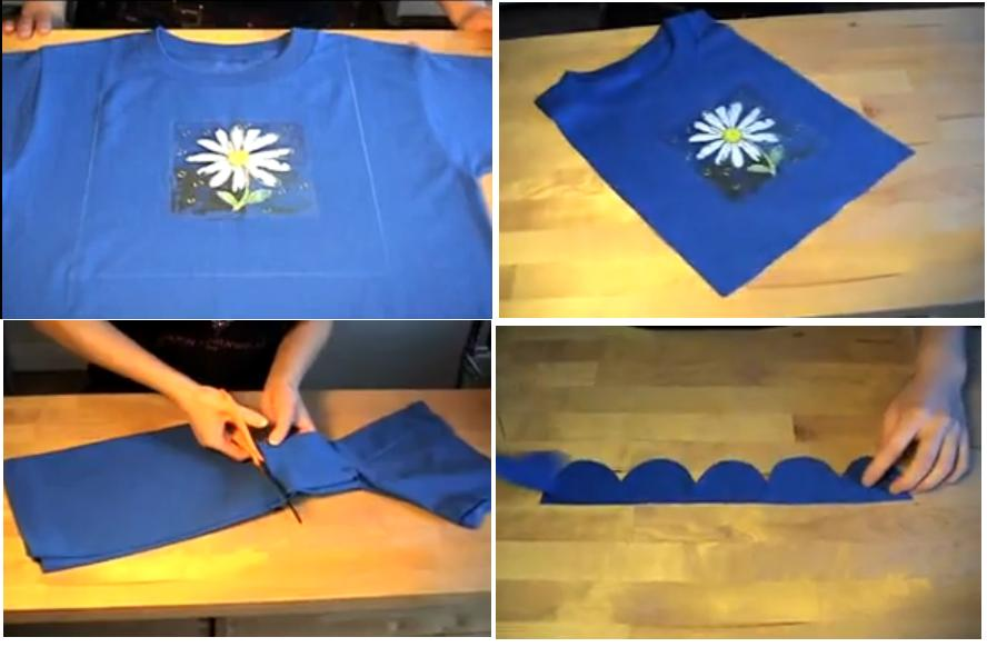 Reciclaje de playera remera camiseta - Que faire avec une vieille baignoire ...