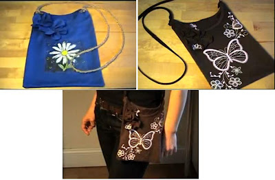 Reciclaje de playera, remera, camiseta