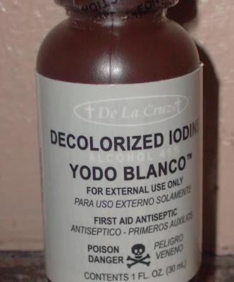 Crema con yodo para adelgazar, Beneficios del yodo