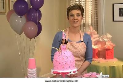 Como hacer una torta de Princesa