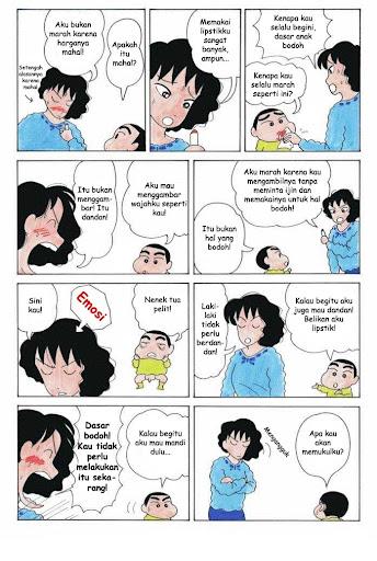 Komik Crayon Shin Chan page 2