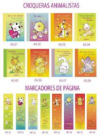 Croqueras y marca páginas