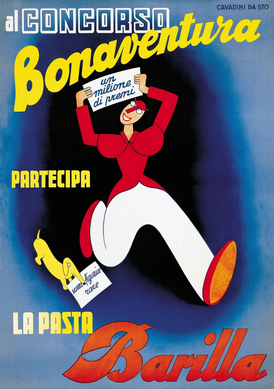 Say hi to design vintage package design of barilla 39 s pasta - Poster per cucina ...