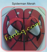 Spiderman Merah