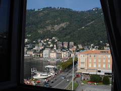 View from Metropole Suisse, Como, Italy