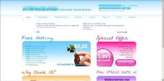 Atspace Free Web Hosting