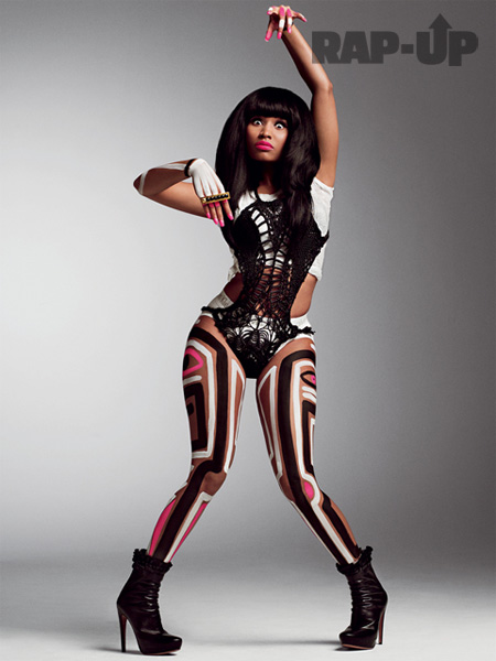nicki minaj barbie photo shoot pictures. Real Minaj! Real Barbie!