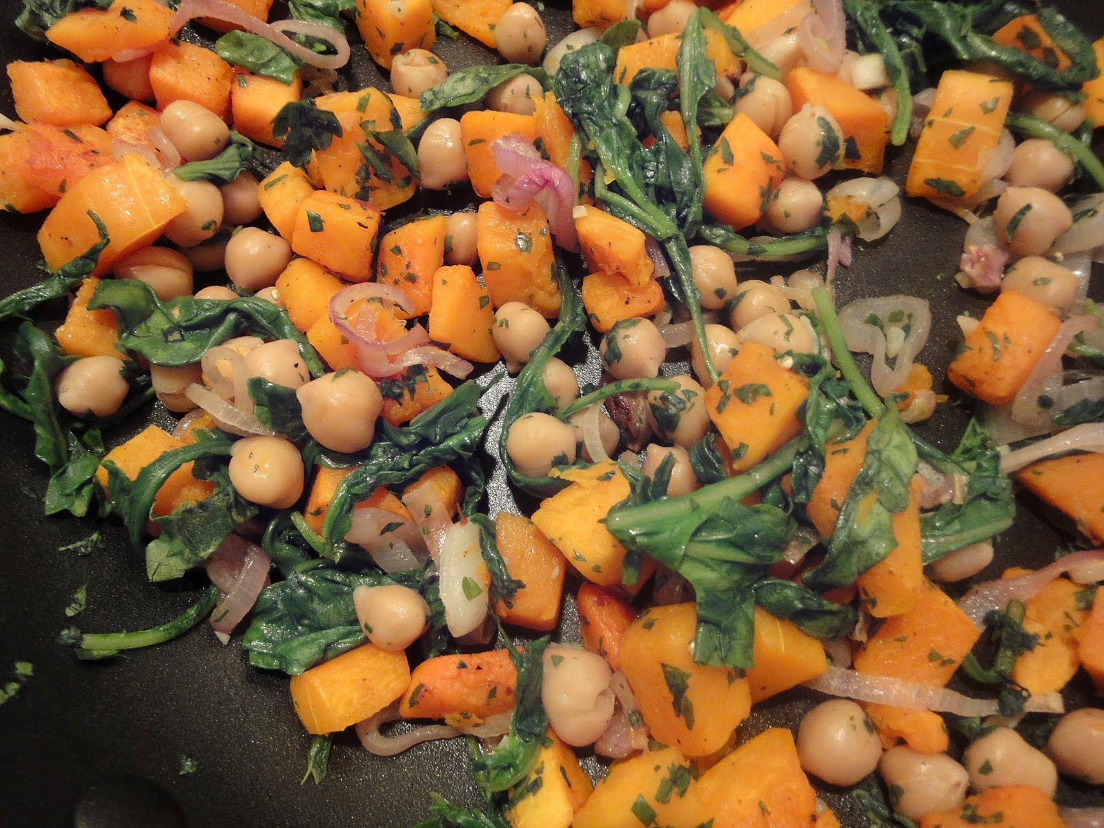 ... Bite: Inappropriately Good Warm Butternut Squash and Chickpea Salad
