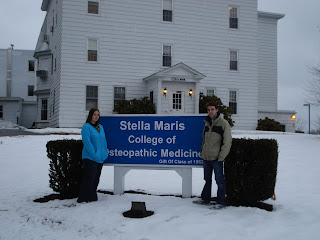 Ty and myself in front of Stella