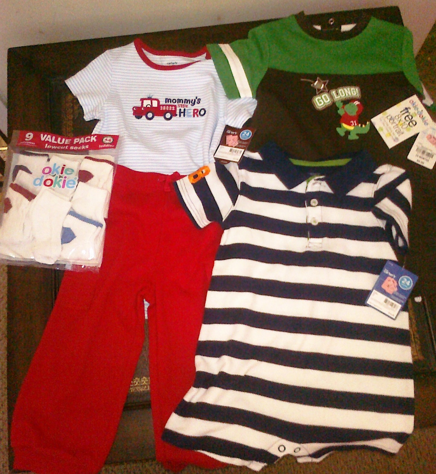 JC Penney Final Clearance off = Cheap Baby Clothes