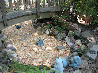 Reminiscence Recreation Fish Pond Is Now Rock Garden