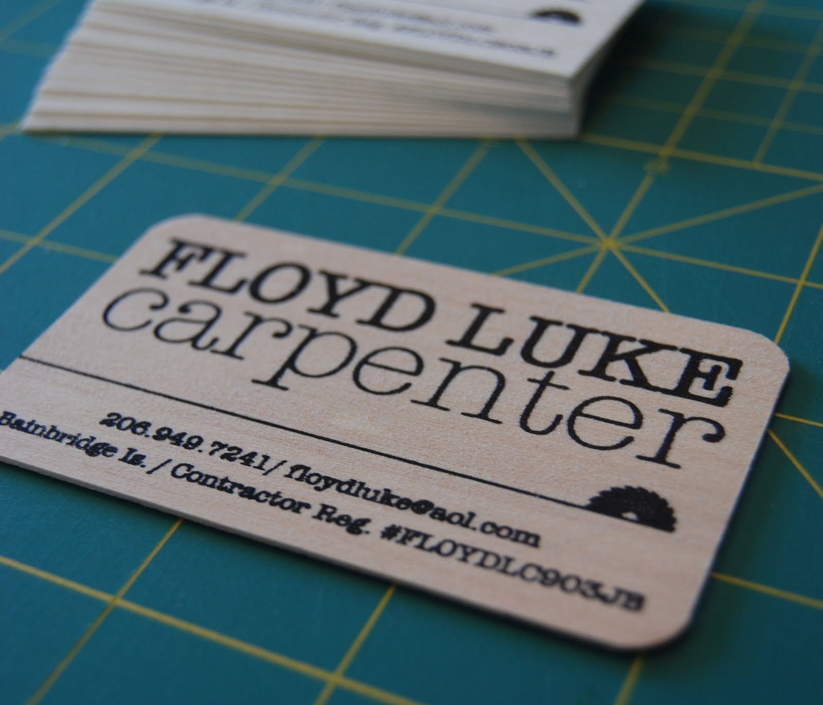 marzipan martha business cards floyd luke carpenter
