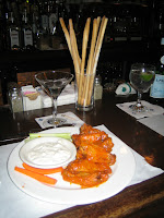 Buffalo wings at Perry's San Francisco
