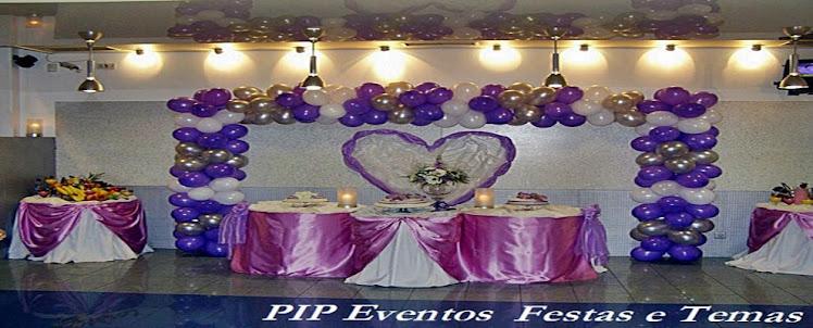 PIP Eventos - Festas e Temas Decorações