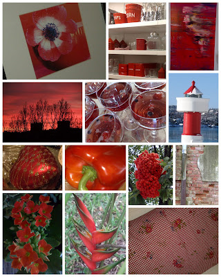 Farger Rød