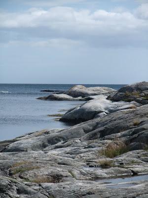 Svaberg på Justøya