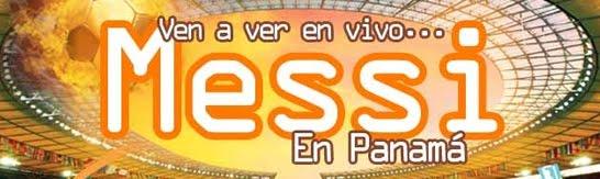 Lionel Messi y sus Amigos Juegan en Panama