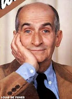 French comedian Louis de Funès
