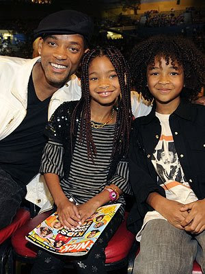 jada pinkett smith and will smith kids. Will Smith with daughter