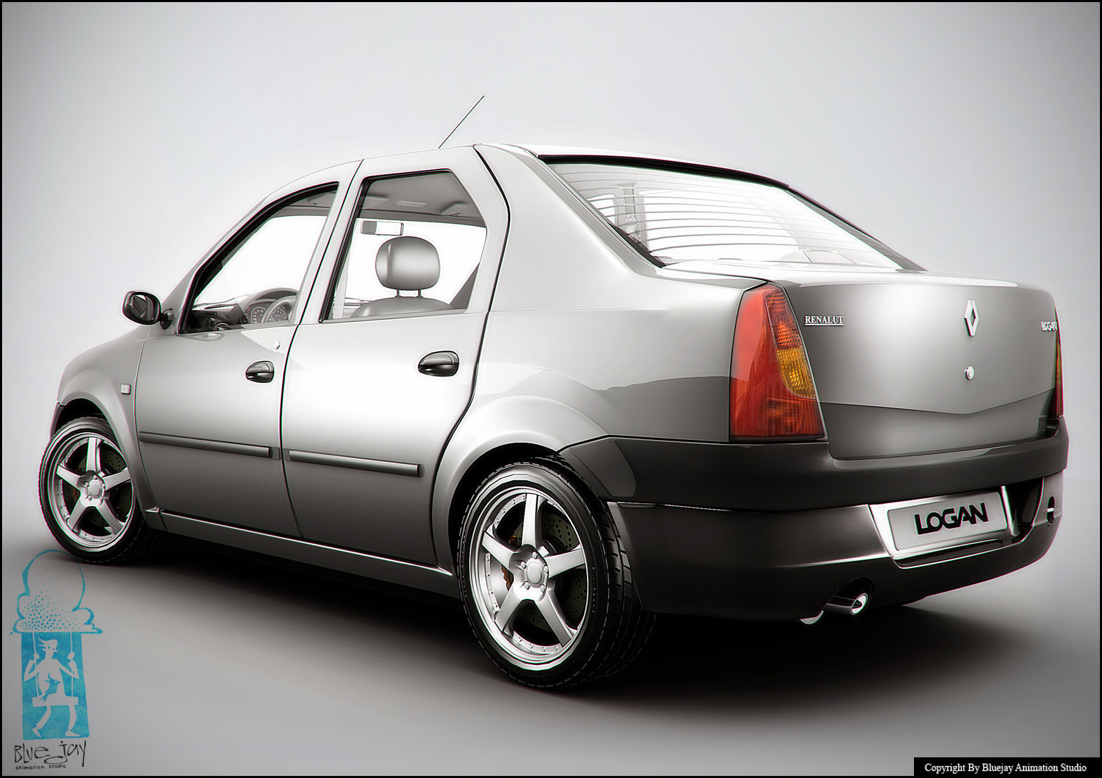 Dacia Logan Tuning Photoshop Tuning Virtual Tuning