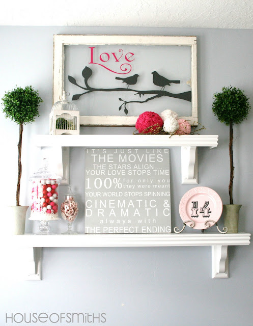 House of Smith Valentines Decorating Ideas