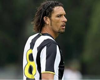 Amauri en su debut con la Juventus